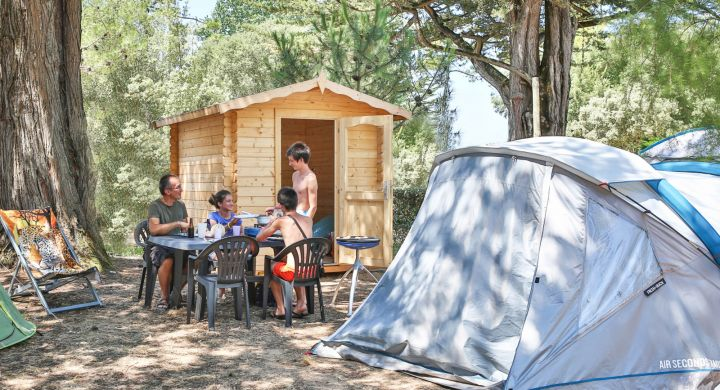 Emplacements camping Oléla